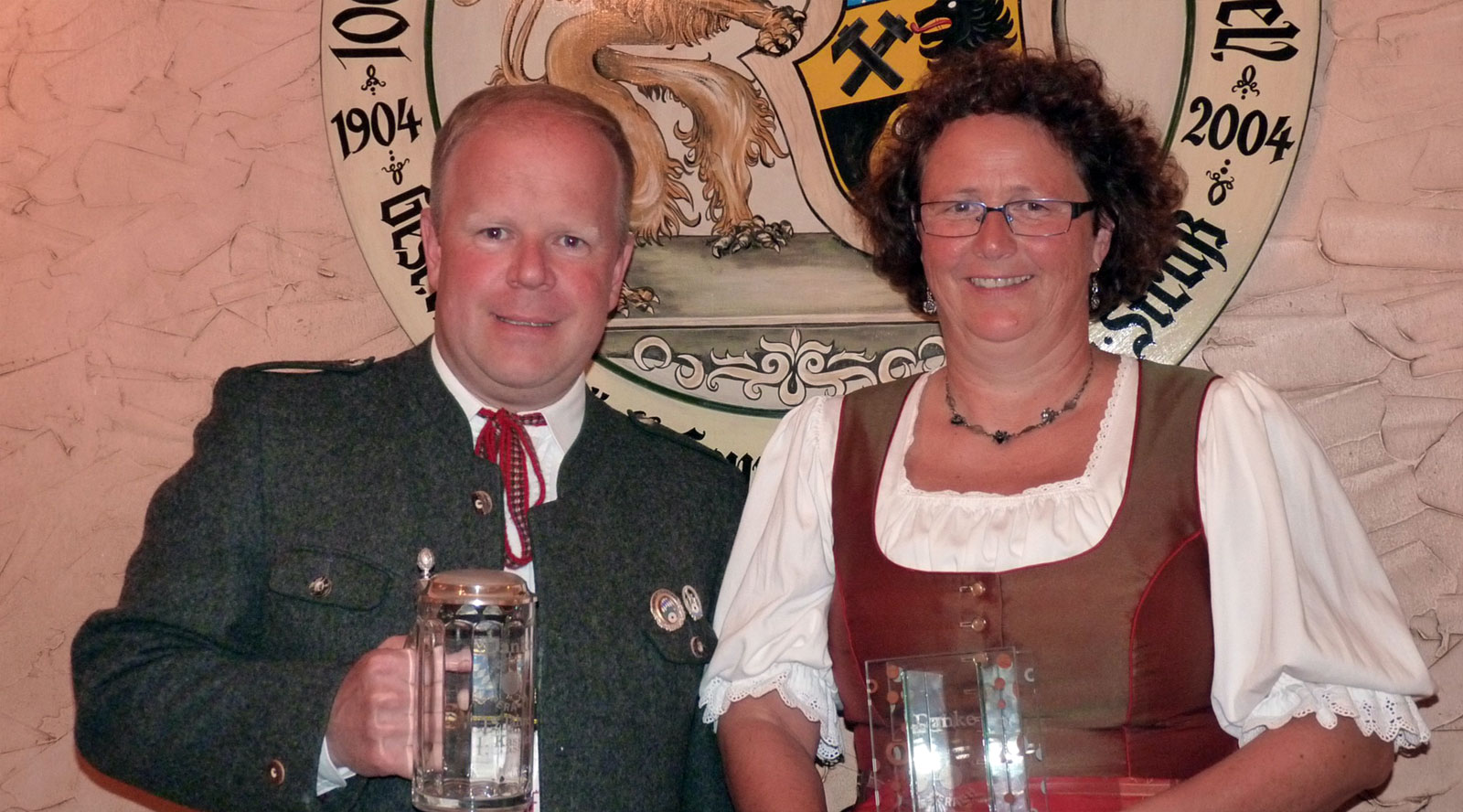 Markus Fundeis und Heidi Pöschl